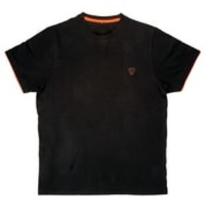 Fox Triko T-Shirt Black/Orange - vel. XL
