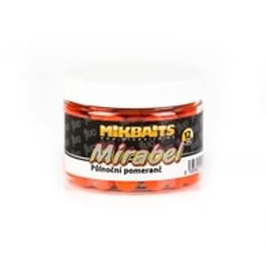 Mikbaits Boilie Mirabel Fluo 12mm 150ml - Pikantní švestka