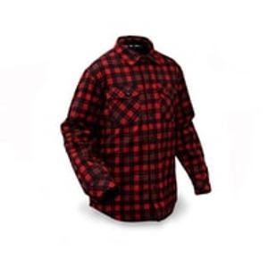 Rapala Softshellová Bunda Insulated Softshell Shirt Red/Black - L