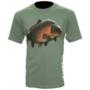 Zfish Tričko Carp T-Shirt Olive Green - XL
