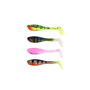 Fox Rage Gumová nástraha Micro Fry UV Mixed colour 4cm 8ks
