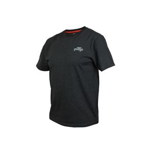 Fox Rage Triko Black Marl Tee Short Sleeve - XXXL