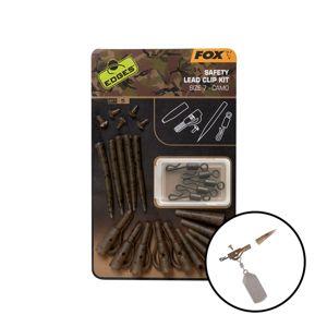 Fox Závěs na olovo Edges Camo Safety Lead Clip Kit vel.7 5ks