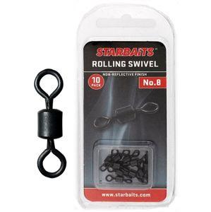 Starbaits Obratlík Rolling Swivel č.8 10ks