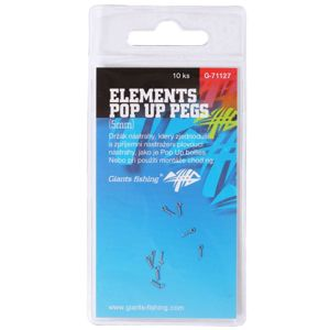 Giants Fishing Kolíček s očkem Elements Pop Up Pegs 10ks - 10mm