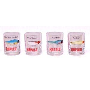 Rapala Panáky Shot Glass 4ks