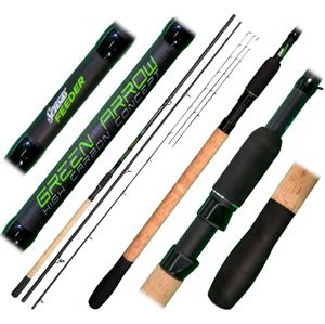 Sensas Prut Green Arrow Feeder 3,6m Medium 50-90g