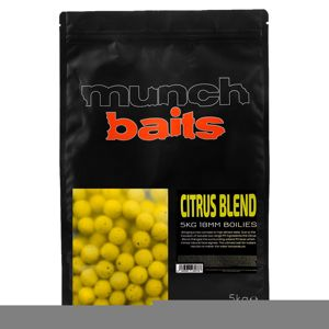 Munch Baits Boilie Visual Range Citrus Blend - 18mm  5kg