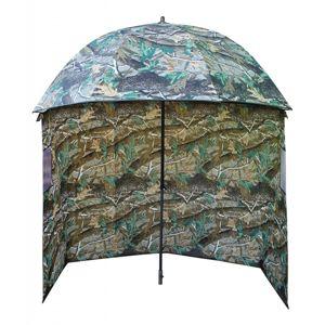Suretti Deštník s bočnicí Camo 190T 2,2m