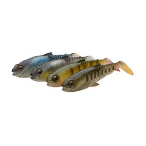 Savage Gear Gumová nástraha Craft Cannibal Paddletail Clear Water Mix 4pc - 6,5cm 4g