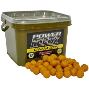 Starbaits Boilies Power FEEDZ Banana Corn 1,8kg