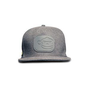 RidgeMonkey Kšiltovka APEarel Dropback Snapback Cap Grey