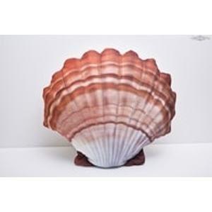 Gaby Polštář Mušle - oranžová 40 cm
